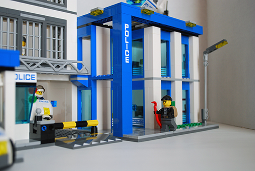LEGO 60047 - The main precinct building