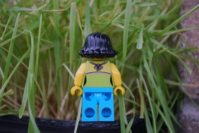LEGO Easter Egg Hunt - Woman Minifig rear view