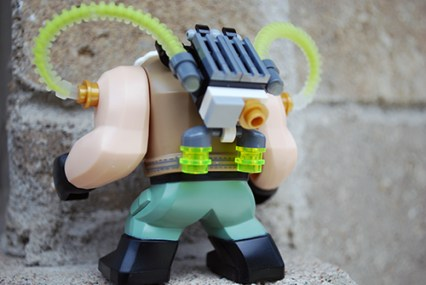 LEGO Bane rear view