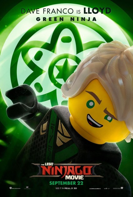 Official Ninjago Movie Lloyd character poster