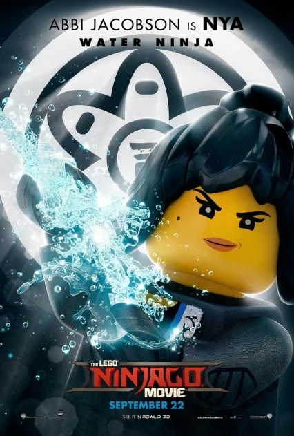 Official Ninjago Movie Nya character poster
