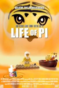 Life of Pi LEGO-fied