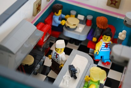 The LEGO Diner.
