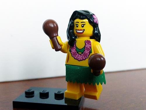 LEGO Hula Dancer