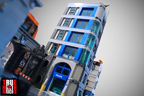 MOC: Police Station - Level 1 - True North Bricks