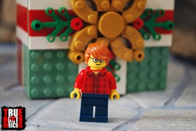 Alternate hair included with the Buildable Holiday Present.