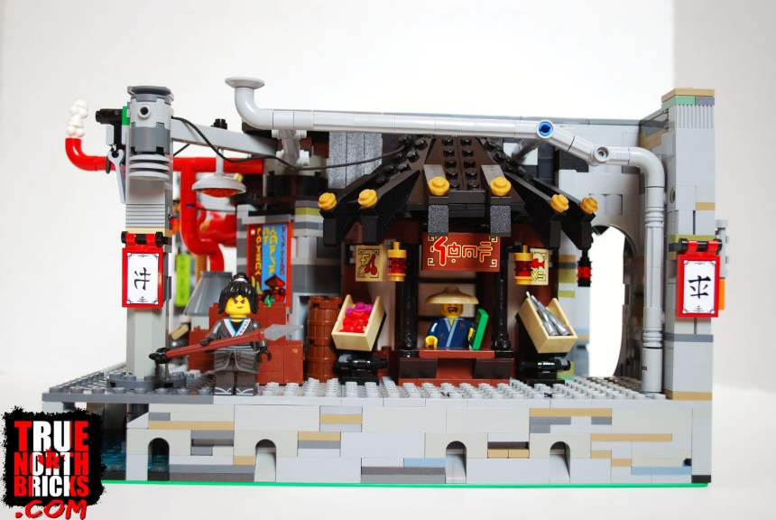 Customized Ninjago City Chase set.