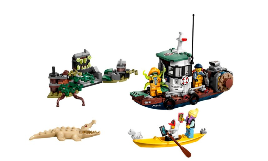 LEGO® Hidden Side Wrecked Shrimp Boat