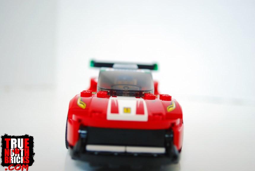 Front view of Ferrari 488 GT3.
