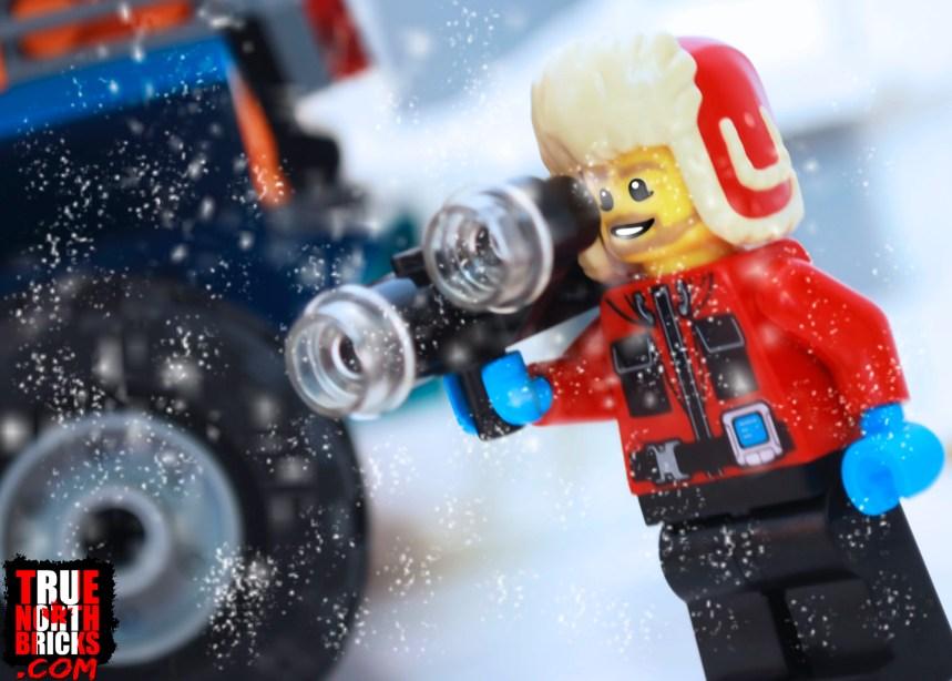 Arctic Scout Truck film maker Minifigure.