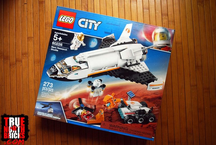 Mars Research Shuttle front box art.