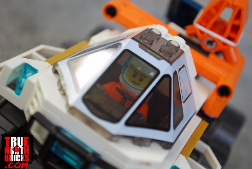 Rover cockpit exterior.