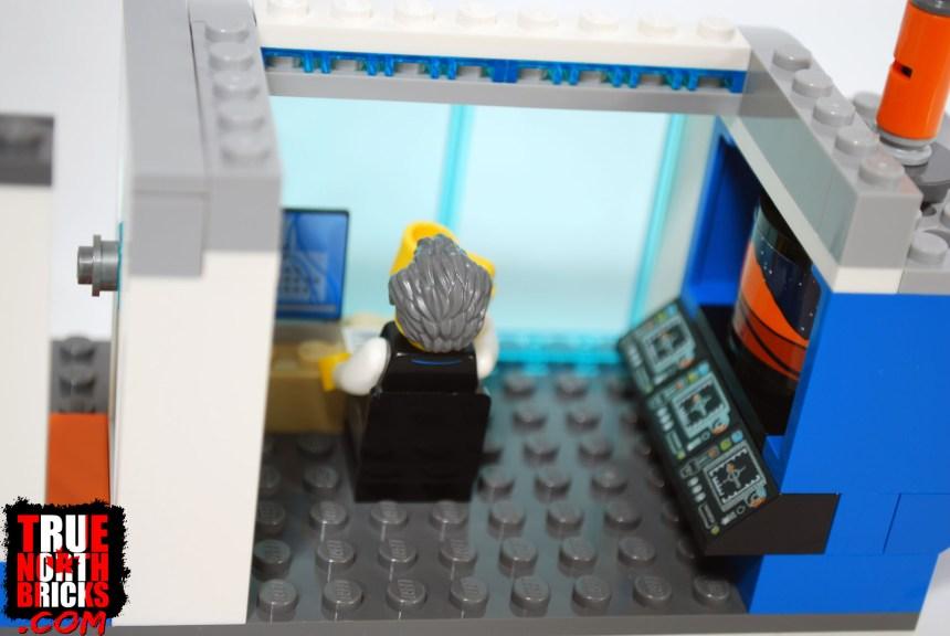 Mission control interior view