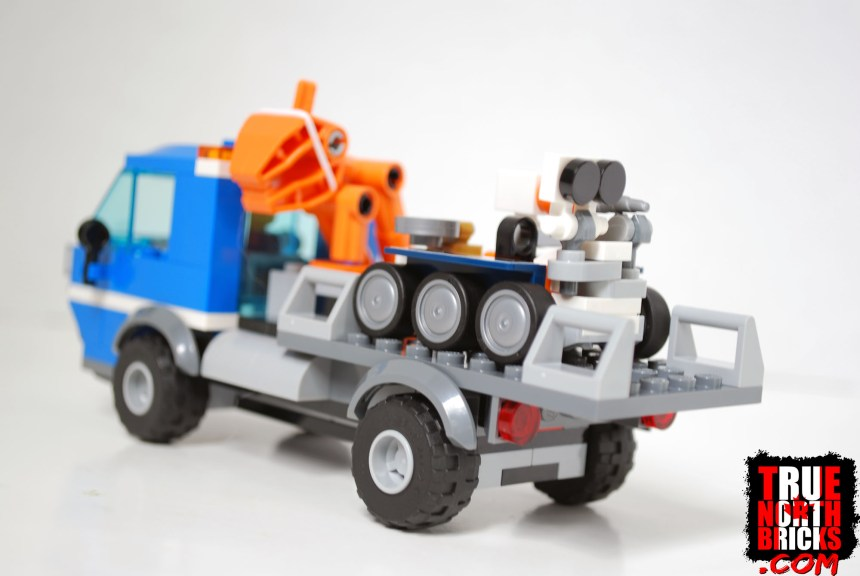 Rocket Assembly and Transport truck