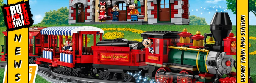 Disney Train and Station from the LEGO® Group - True North
