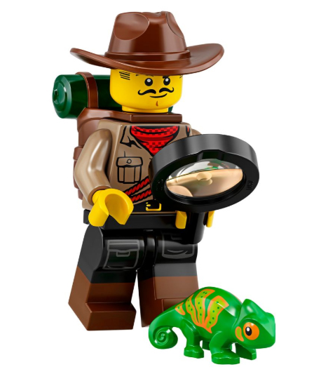 Jungle Explorer Minifigure