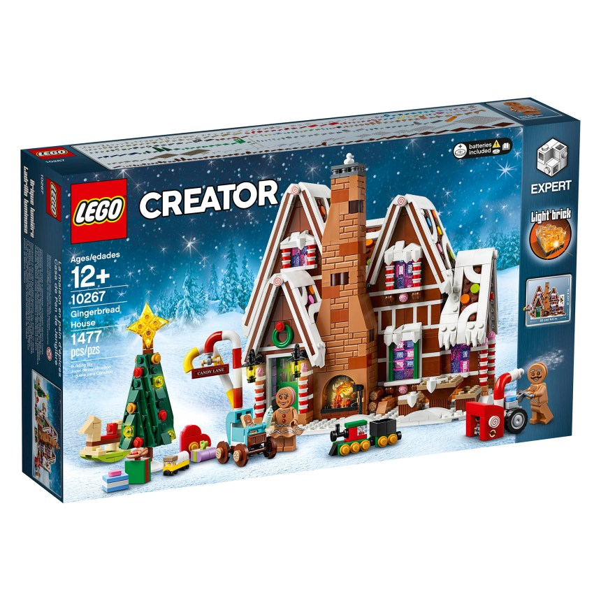 Creator Gingerbread House (10267)