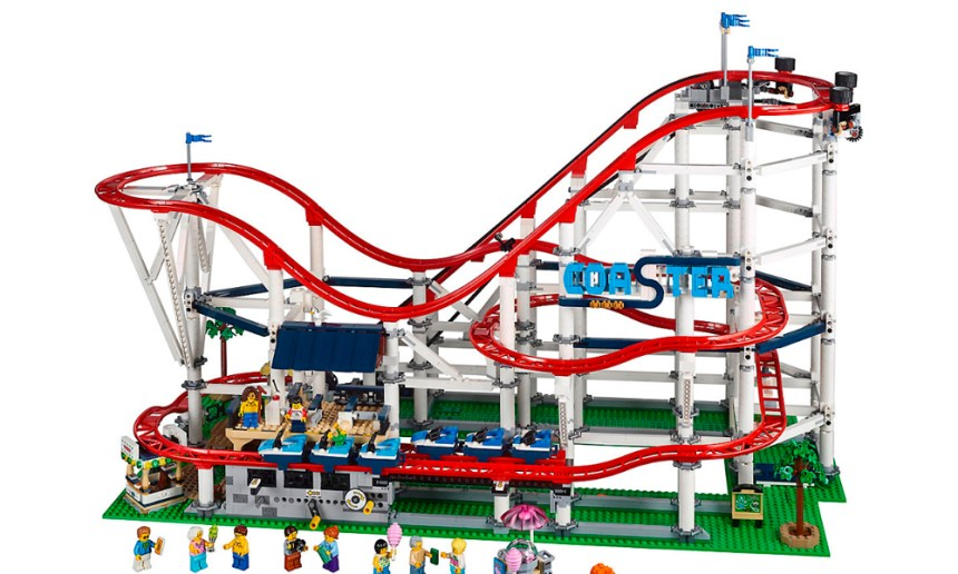 Tenth biggest LEGO® set Septmber 2019, the Roller Coaster.