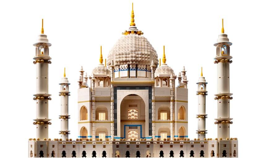 The third largest LEGO set, the Taj Mahal.
