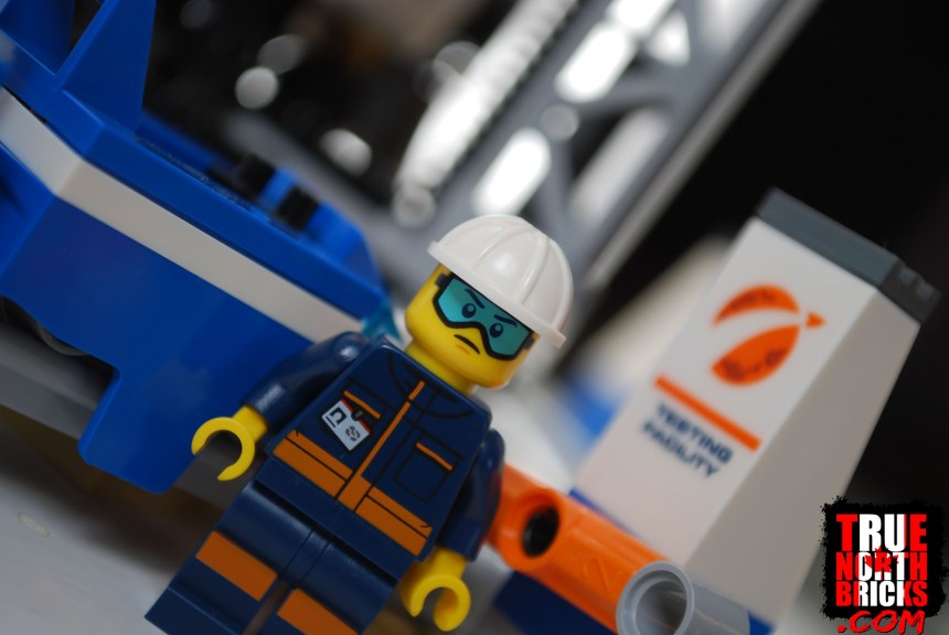 Engineer Minifigure from Deep Space Rocket and Launch Control.