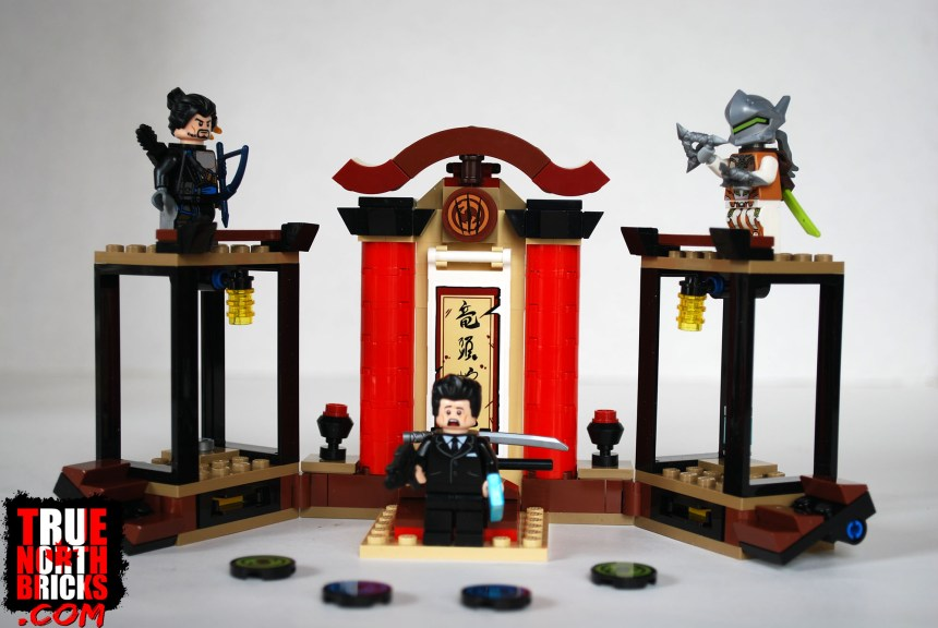 Hanzo Vs Genji (75971) box contents.