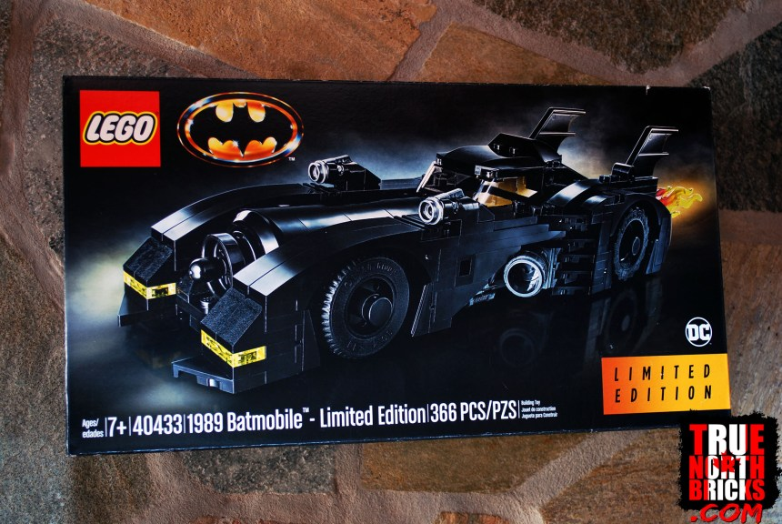 1989 Batmobile (Limited Edition) front box art.