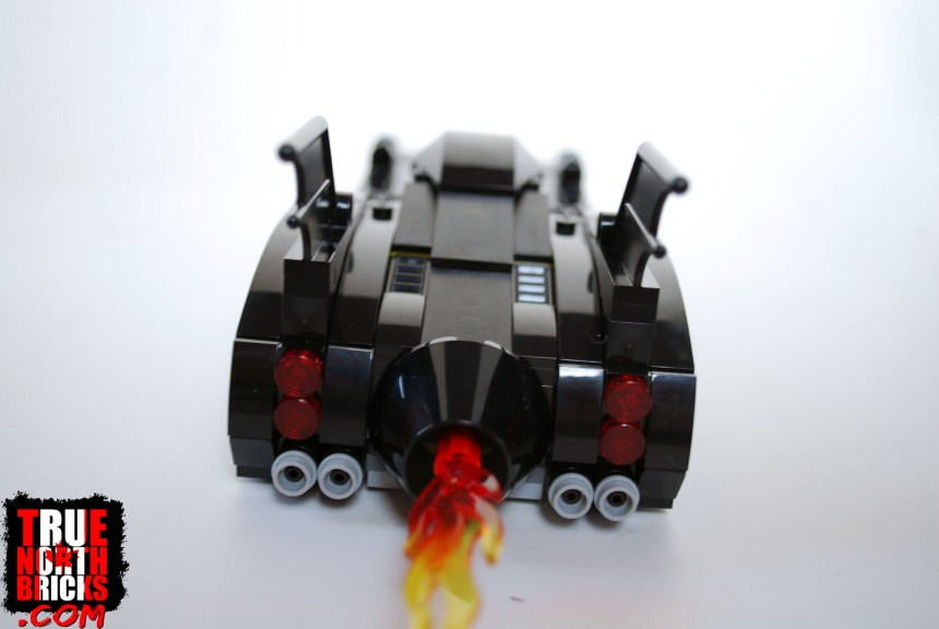 1989 Batmobile (Limited Edition) rear view.