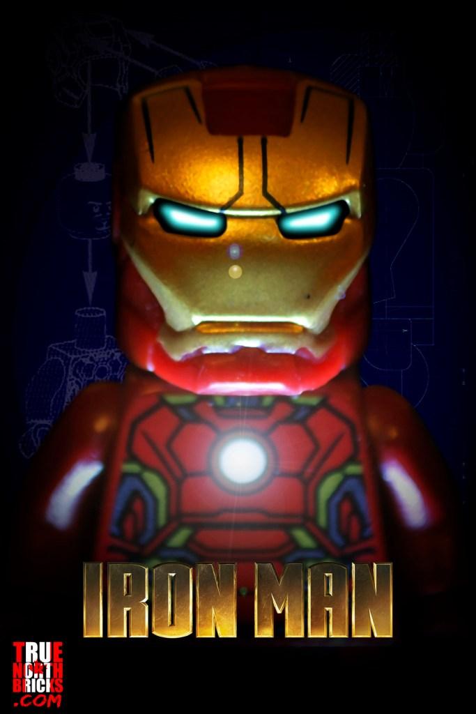 Iron Man LEGO-fied