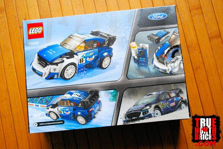 Ford Fiesta (75885) rear box art.