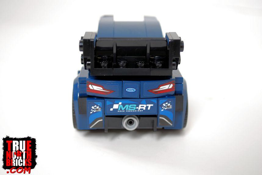 Ford Fiesta (75885) rear view.