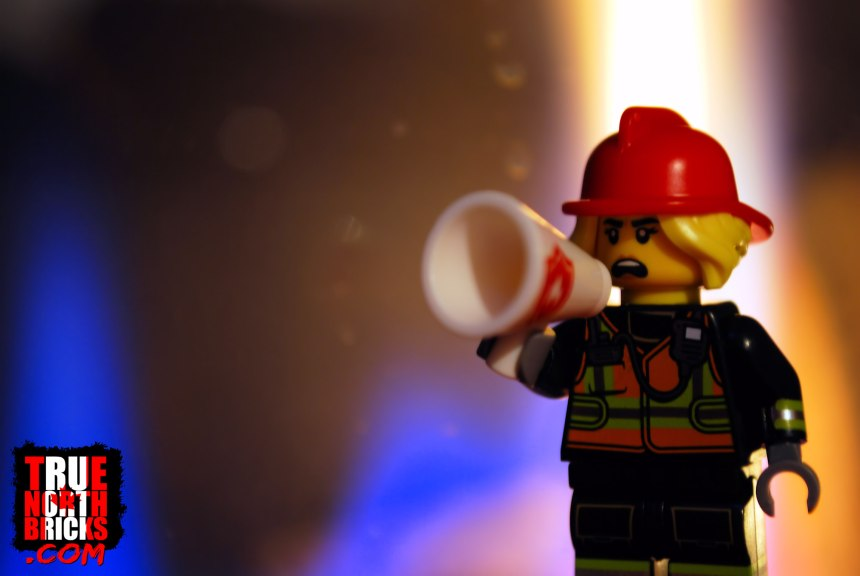 The Heat is On was inspired by the fire fighter Minifigure from series 19.