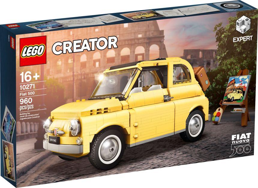 Fiat 500 (10271) box art