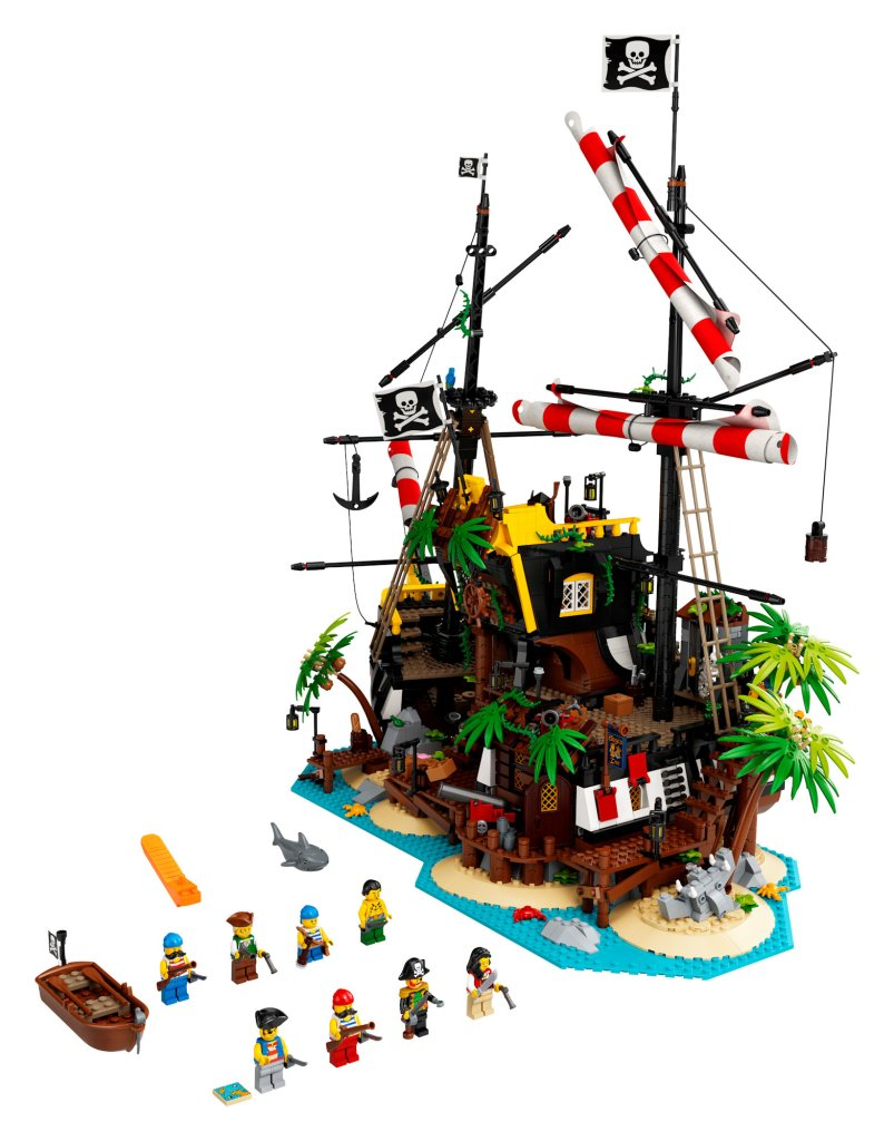 LEGO® Pirates of Barracuda Bay coming soon!