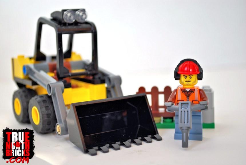 Construction Loader (60219) box contents.