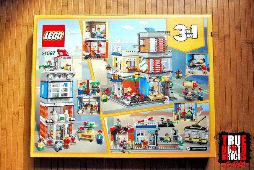 Townhouse Pet Shop and Cafe rear box art.