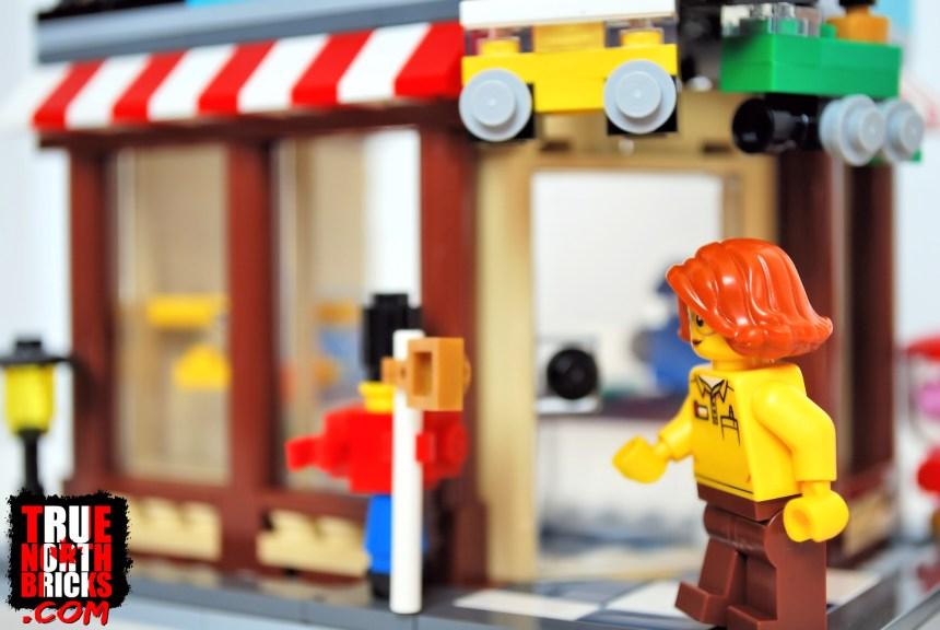 Corner toy store.