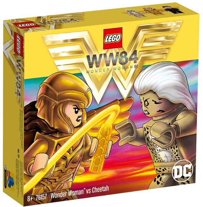 Wonder Woman 1984 revealed: box art.