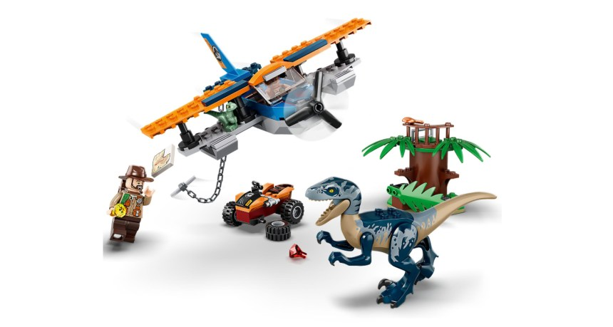Summer 2020 Jurassic World Biplane Rescue Mission