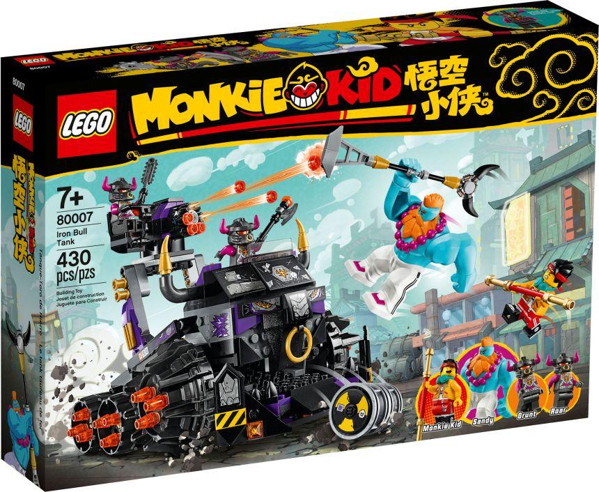 Monkey Kid set: Iron Bull Tank