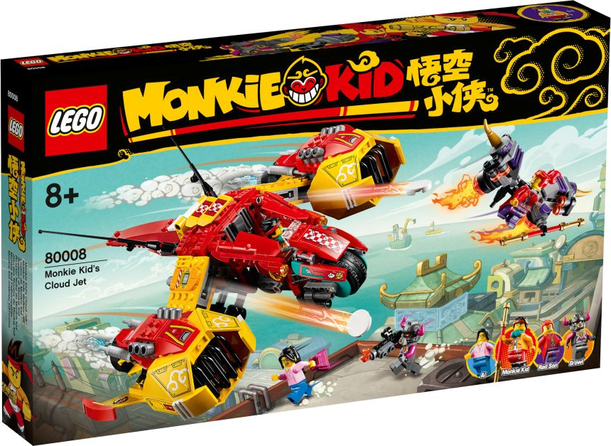 Monkie Kid set: Monkie Kid's Cloud Jet
