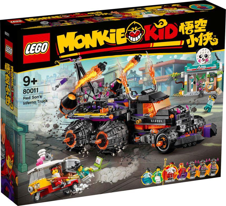 Monkie Kid set: Red Son's Inferno Truck