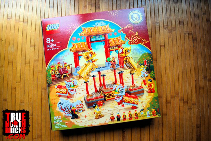 Lion Dance (80104) front box art.