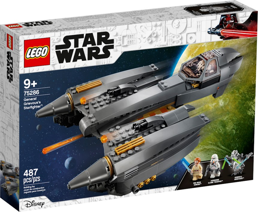 Summer 2020 Star Wars General Grievous' Starfighter