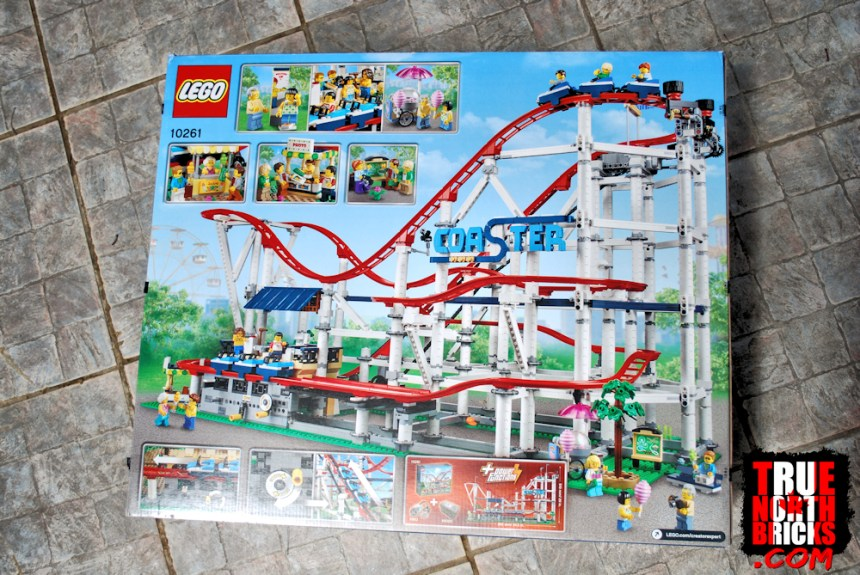 Roller Coaster (10261) rear box art.