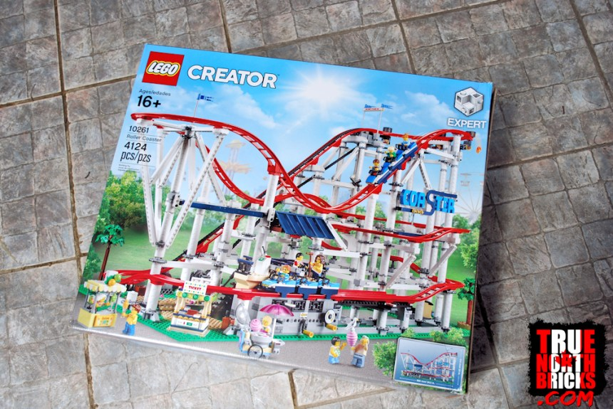 Roller Coaster (10261) front box art.