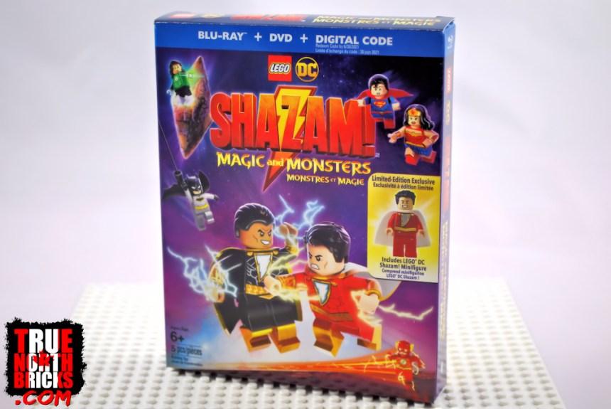 Shazam Magic and Monsters box art