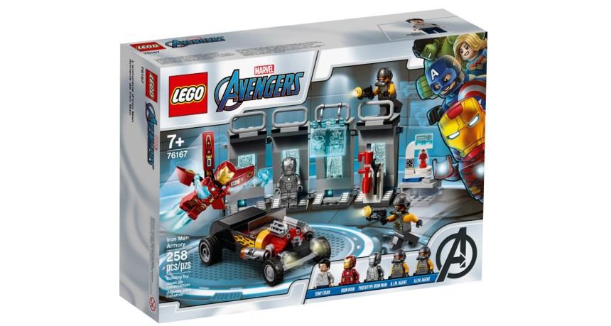 September 2020 set: Iron Man Armory