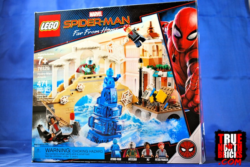 Hydro-Man Attack (76129) box art