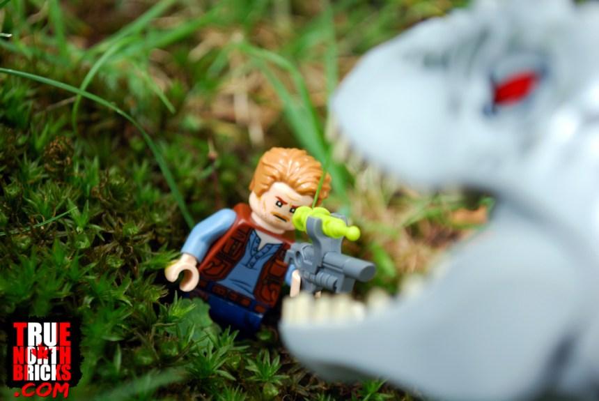 Indominus rex VS Owen Grady