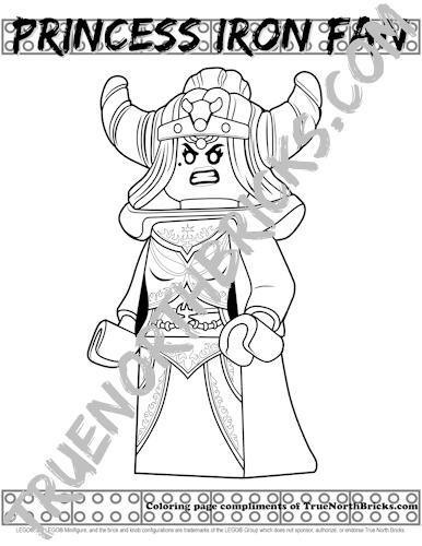 Princess Iron Fan coloring page sample